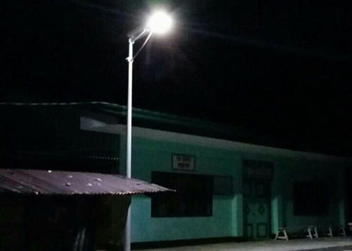 30W all in one solar street light for Philippines clinic