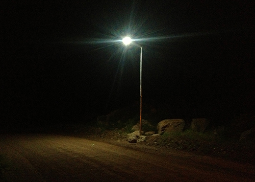 30w A1 series all in one solar street light for rural area