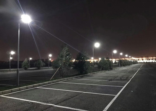 20w parking lot solar led light