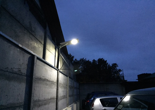 15w parking lot solar LED light