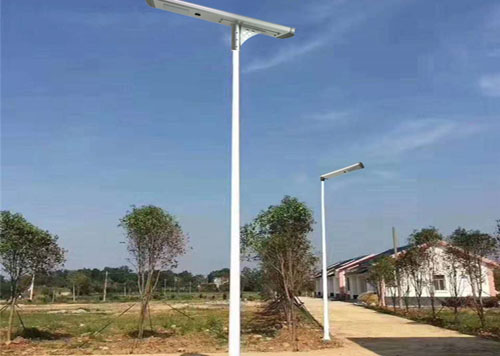 residential all in one solar led light