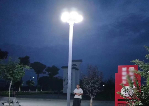 30w UFO all in one solar garden light