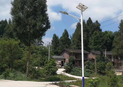 separated solar street light