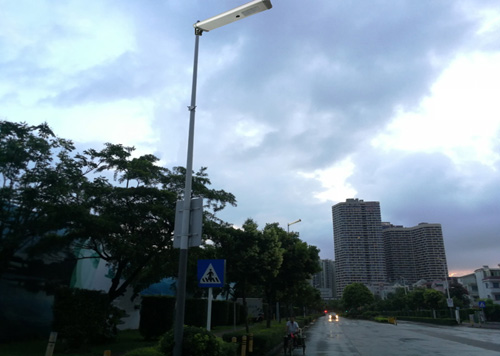 hitechled 40w integrated solar street light