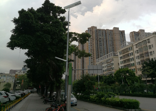 D3 all in one solar street light