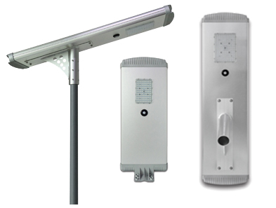 A Series all in one solar street light